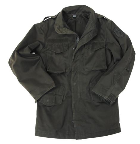 Austrian BH field jacket olivgreen used new at ASMC.